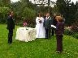 jedna z mnoha romantických svateb