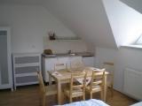 Kuchyňka v apartmánu
